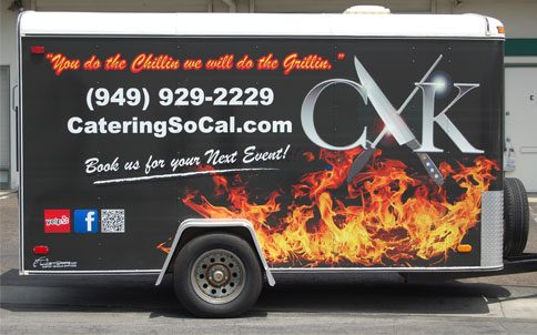 trailer wrap, trailer graphics, trailer decals, food truck wrap, food truck graphics