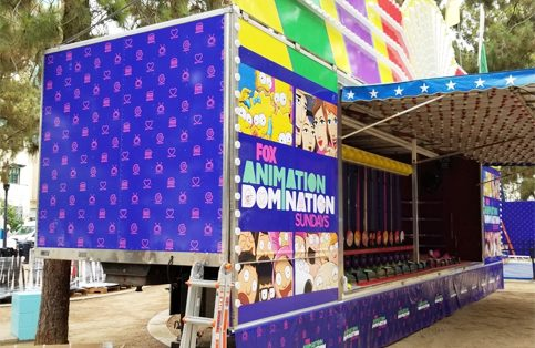 Animation Domination Trailer Wrap