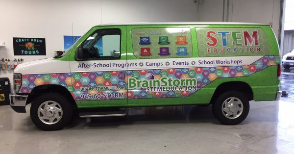 van wrap, car wrap, vehicle wrap, vehicle graphics