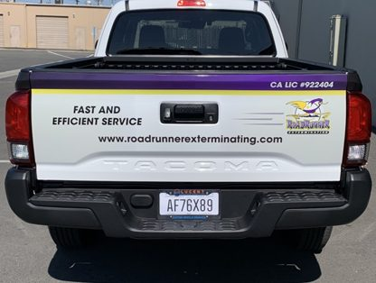 partial wrap, decals, truck wrap, vehicle decals, car wraps