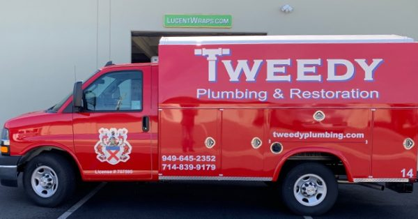 van wrap, car wrap, vehicle wrap, vehicle graphics, plumbing van wrap, fleet graphic, box truck wrap