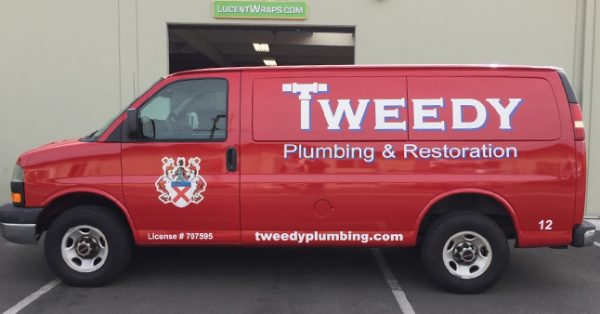 van wrap, car wrap, vehicle wrap, vehicle graphics, plumbing van wrap, fleet graphic