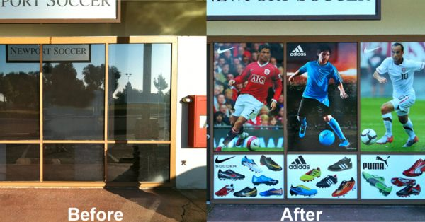 window wraps, window graphics, window decals