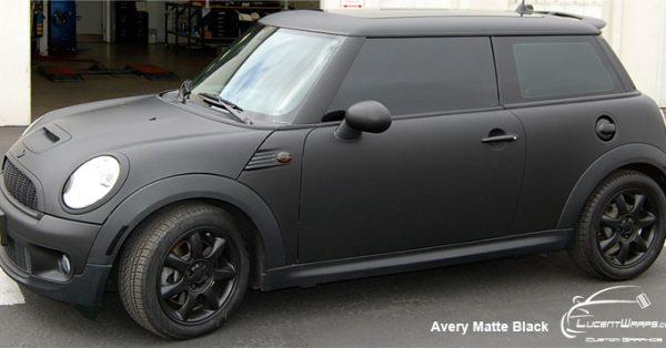 car wraps, vehicle wraps, color change wrap, custom wraps, matte black wrap