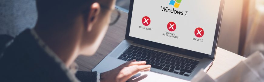 3 choses à faire avant la fin du support de Windows 7