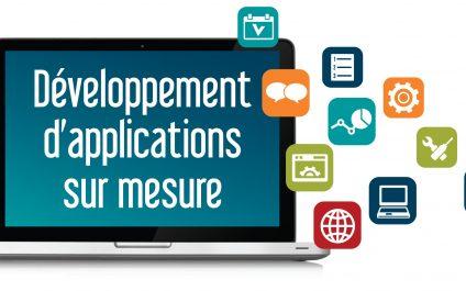 Développement d'applications sur mesure