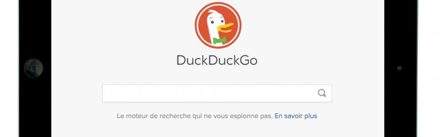DuckDuckGo : un moteur de recherche axé sur la confidentialité