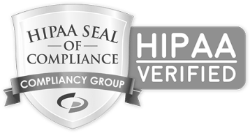 Logo-HIPAA-Compliance-Verification-Seal-of-Compliance-bw