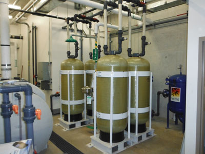 25 GPM Greywater Filtration System in OC area