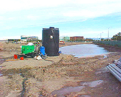 100 GPM Construction Stormwater Treatment System - Santa Ana