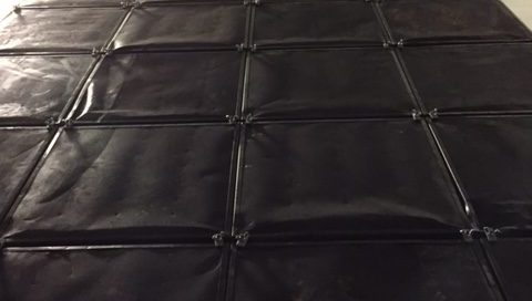 Carbon Panels Using Activated Carbon For Air Treatment