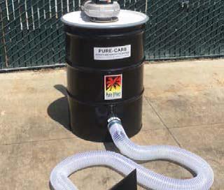 Using Carbon Drum Vessels for VOC Odors