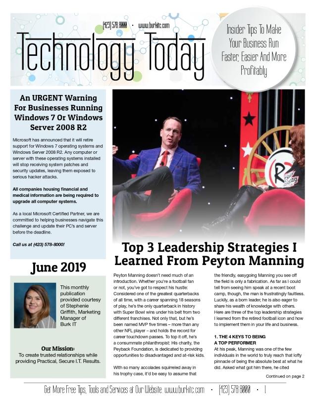 June 2019 newsletter