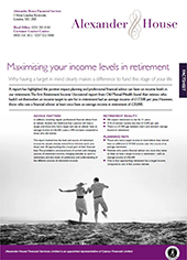 maximising-your-income-levels-in-retirement