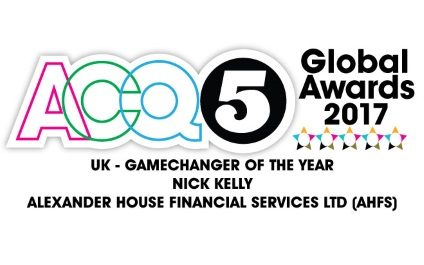 ACQ5 Global Awards 2017's Game Changer of the Year