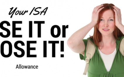 Use Your ISA Allowance Or Lose It