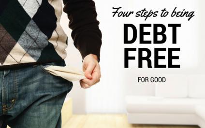 4 Steps to Escape Debt For Good