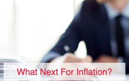 What Next For Inflation?