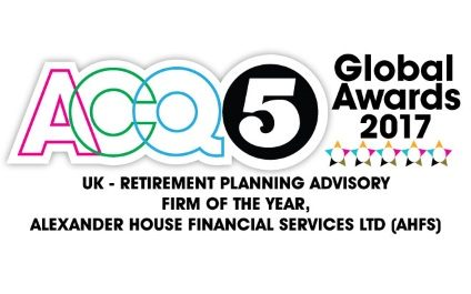 ACQ5 Global Awards 2017's UK – Retirement Planning Advisory Firm of the Year