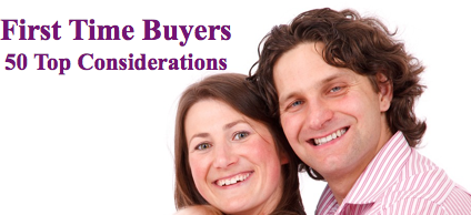 Thoughts For First Time Buyers