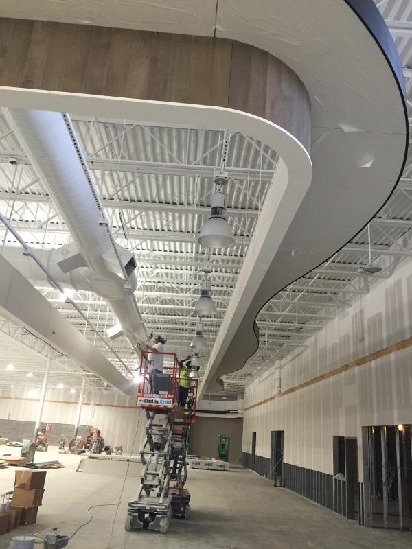 Interior Store Lighting