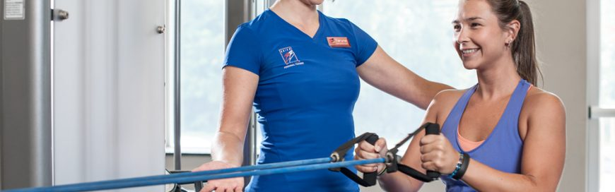 Positively Fit Works with Individuals to provide One-on-One Personal Training