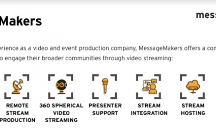 Our Live-Streaming Capabilities and Free Webinar Registration