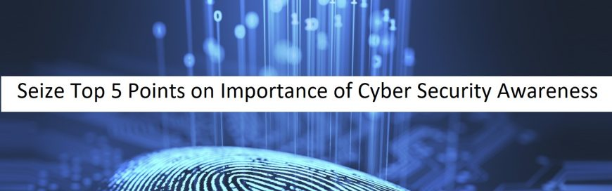 Seize Top 5 Points on Importance of Cyber Security Awareness