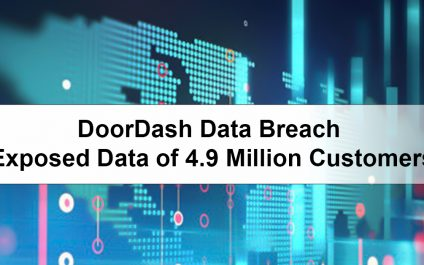 DoorDash Data Breach: Exposed Data of 4.9 Million Customers
