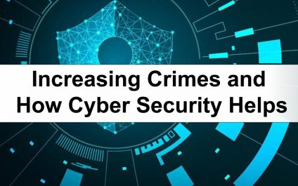 Increasing Crimes and How Cyber Security Helps