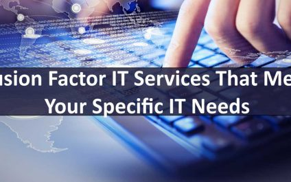 Fusion Factor IT Services That Meet Your Specific IT Needs