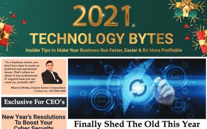 Newsletter – January 2021