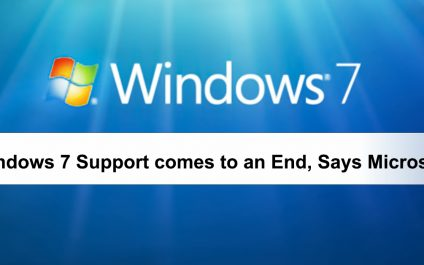 Windows 7 Support comes to an End, Says Microsoft