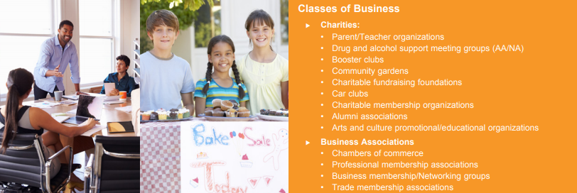 Charities and Business Associations