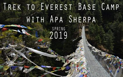 Trek to Everest Base Camp with Apa Sherpa