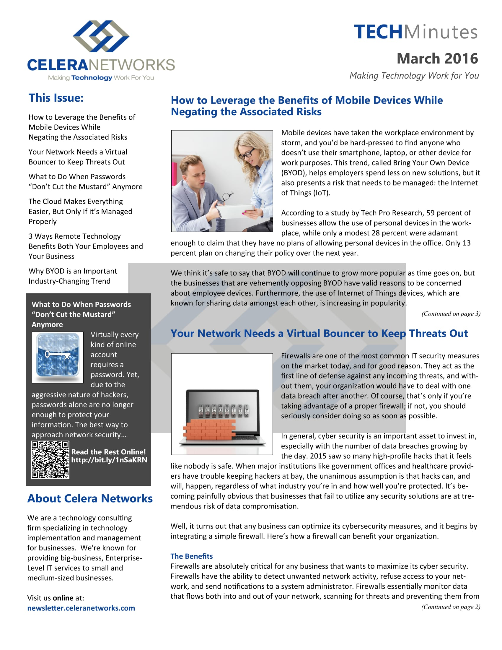 Our Newsletters - Andover, Lawrence, Methuen   Celera