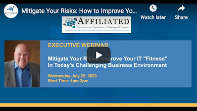 """Mitigate Your Risks: How to Improve Your IT Operational """"Fitness"""""""