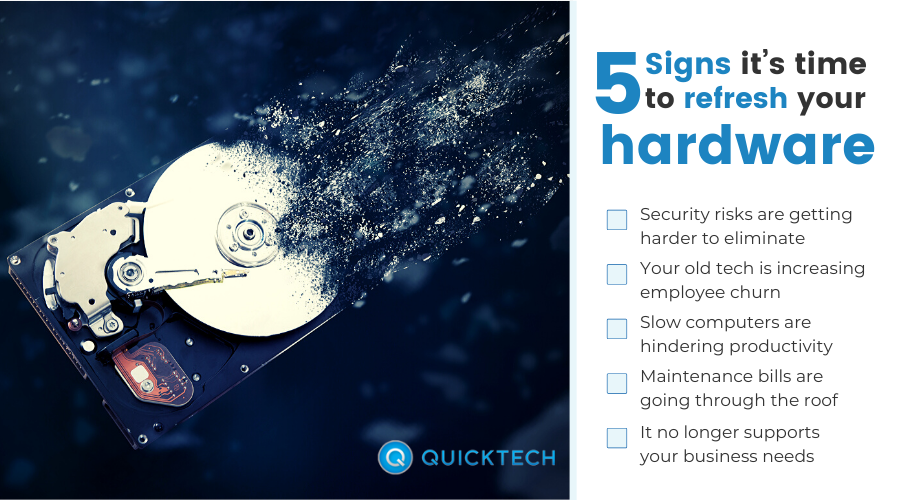 signs you need new hardware infographic