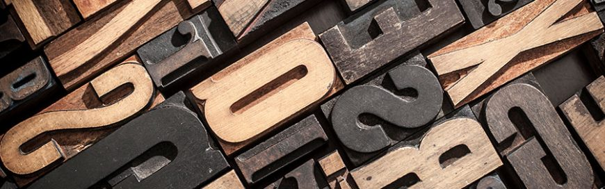 Face the font: Choosing the right ones for your brand