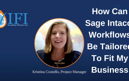 How Can Sage Intacct Workflows Be Tailored To Fit Your Business?