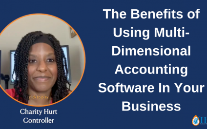 The Benefits of Using Multi-Dimensional Accounting Software In Your Business