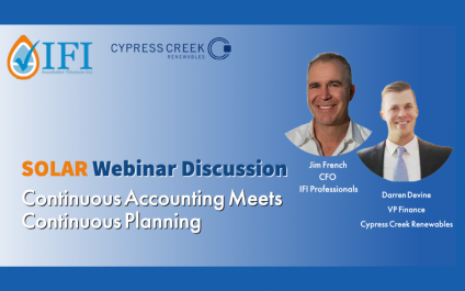 Continuous Planning Meets Continuous Accounting