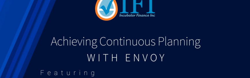 Achieving Continuous Planning with Envoy