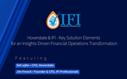 Hoverstate & IFI – Key Solution Elements for an Insights – Driven Financial Operations Transformation