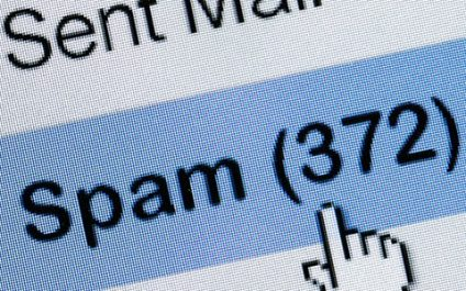 Distributed spam hides illegal activities