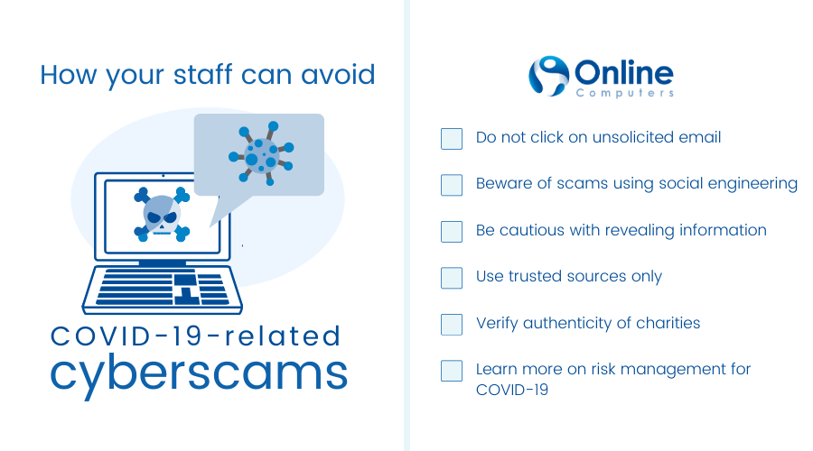 Security tips covid-19 scams