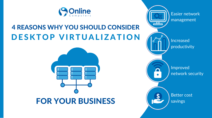 Benefits of desktop virtualization