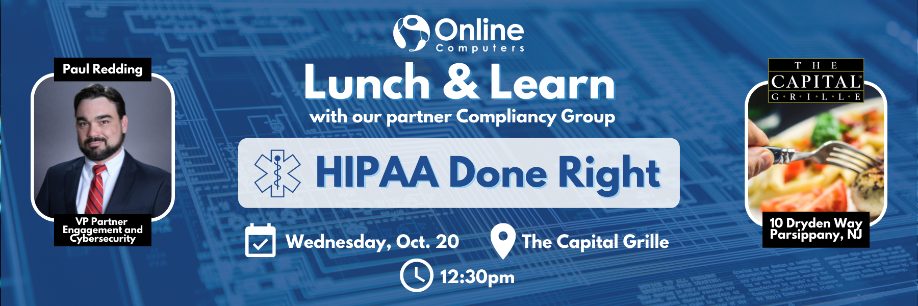 October Lunch and Learn