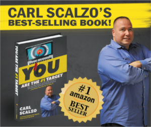 IT Specialist, Carl A. Scalzo Hits Amazon Best-Seller Lists with YOU Are The #1 Target