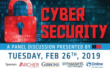 NJBIZ Cybersecurity Panel Discussion